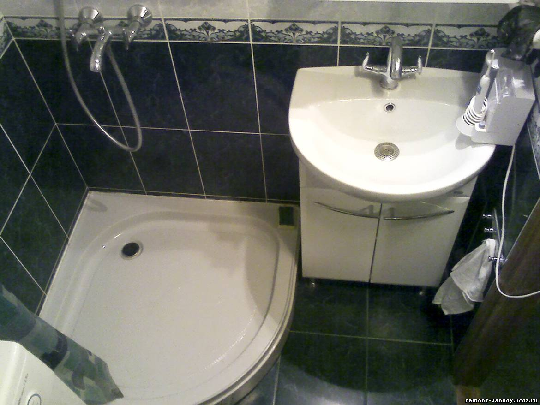 Ванная комната с поддоном фото