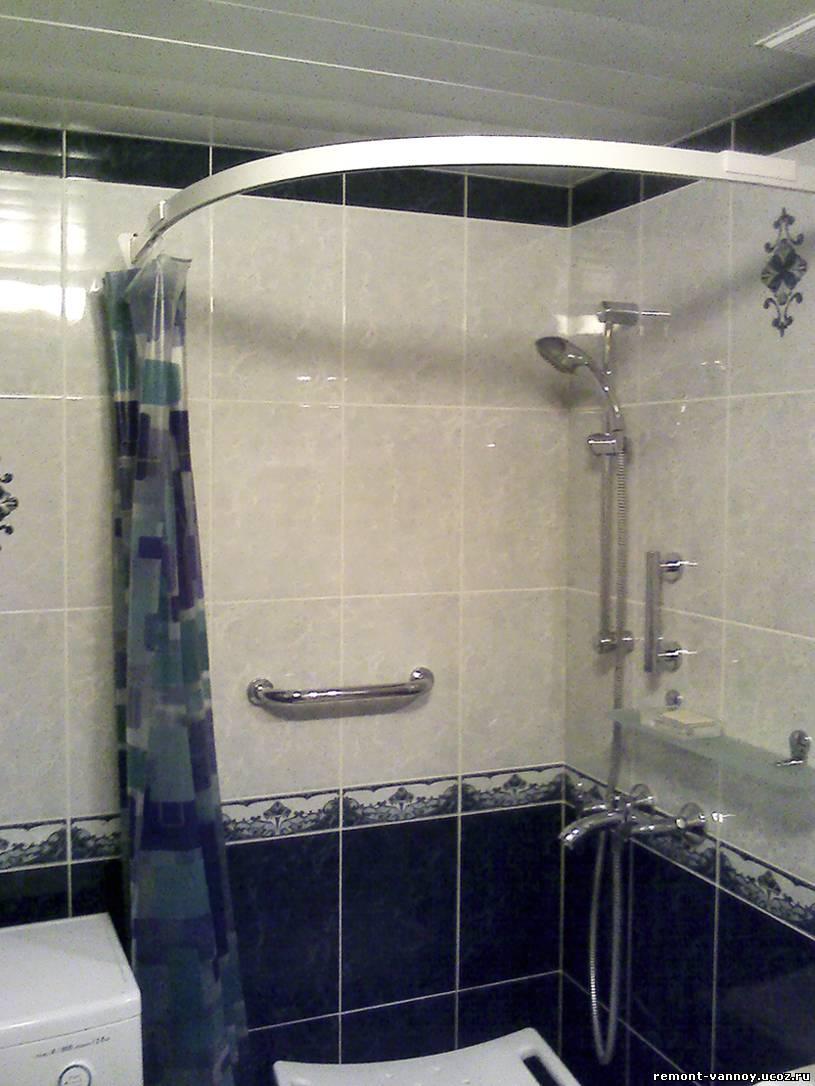 Поддон в ванной комнате